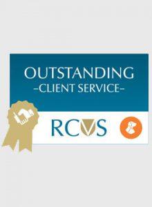 PSS Client service award