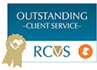 Outstanding client service award